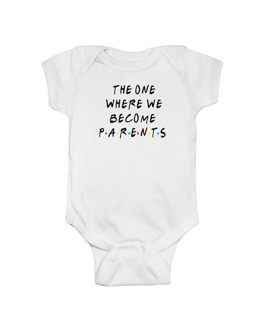 Become Parents Onesie