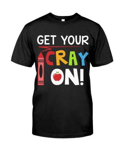 Teacher - Cray on