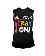 Teacher - Cray on Sleeveless Tee thumbnail