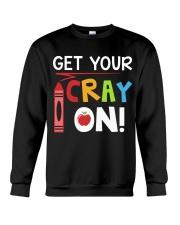 Teacher - Cray on Crewneck Sweatshirt thumbnail