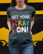 Teacher - Cray on Ladies T-Shirt apparel-ladies-t-shirt-lifestyle-04