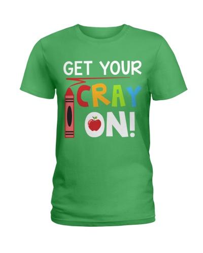 Teacher - Cray on