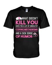 Nurse - What Doesnt V-Neck T-Shirt thumbnail