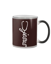 Nurse - Jesus Color Changing Mug thumbnail