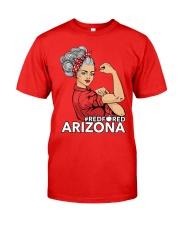 Arizona Strong Teacher - RedforED Classic T-Shirt front