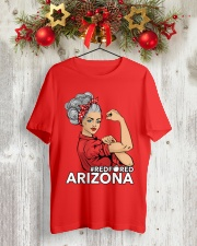 Arizona Strong Teacher - RedforED Classic T-Shirt lifestyle-holiday-crewneck-front-2