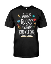 I'm A Book Lover Classic T-Shirt front