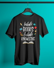 I'm A Book Lover Classic T-Shirt lifestyle-mens-crewneck-front-3