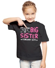 Big Sister - February 2019 Youth T-Shirt lifestyle-youth-tshirt-front-2