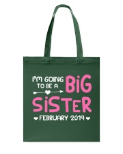 Big Sister - February 2019 Tote Bag thumbnail