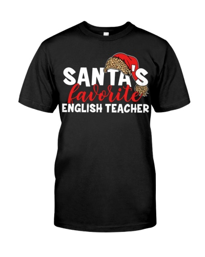 English Teacher - Santa's Favorite