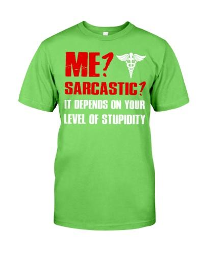 Nurse - Sarcastic