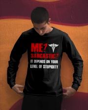 Nurse - Sarcastic Long Sleeve Tee apparel-long-sleeve-tee-lifestyle-01