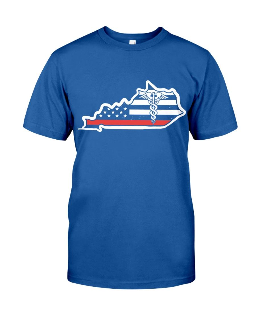 Nurse - Kentucky Flag Shirt Classic T-Shirt