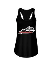 Nurse - Kentucky Flag Shirt Ladies Flowy Tank thumbnail