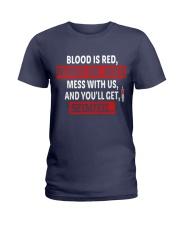 Nurse Sedated Ladies T-Shirt tile