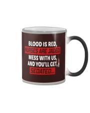 Nurse Sedated Color Changing Mug thumbnail