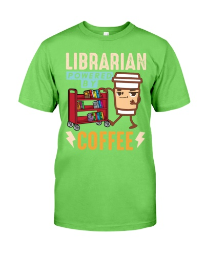 Librarian - Powered by Coffee