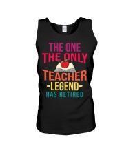 Retired Teacher - Legend Unisex Tank thumbnail