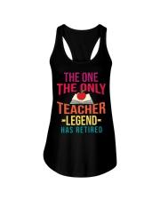 Retired Teacher - Legend Ladies Flowy Tank thumbnail