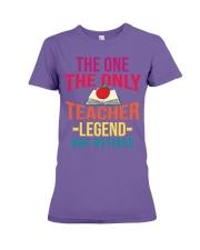 Retired Teacher - Legend Premium Fit Ladies Tee thumbnail