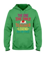 Retired Teacher - Legend Hooded Sweatshirt thumbnail