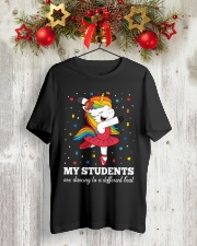 Special ED Teacher - Dancing to a different beat Classic T-Shirt lifestyle-holiday-crewneck-front-2