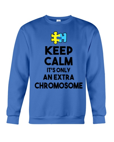 Down Syndrome - Keep Calm - Extra Chromosome
