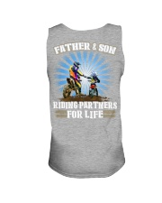 Father and Son - Riding Partners for life Unisex Tank thumbnail