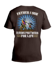 Father and Son - Riding Partners for life V-Neck T-Shirt thumbnail