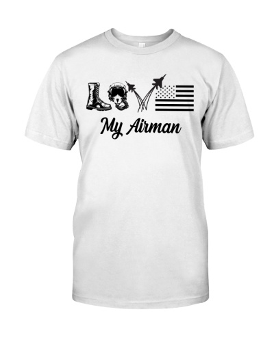 Veteran - Love my Airman