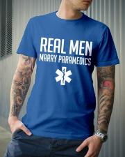 Real Men Marry Paramedics Classic T-Shirt lifestyle-mens-crewneck-front-6