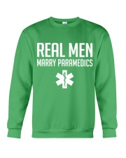 Real Men Marry Paramedics Crewneck Sweatshirt thumbnail