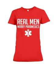 Real Men Marry Paramedics Premium Fit Ladies Tee thumbnail