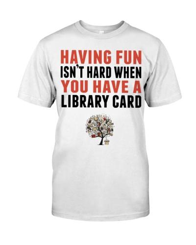 Librarian  Having Fun