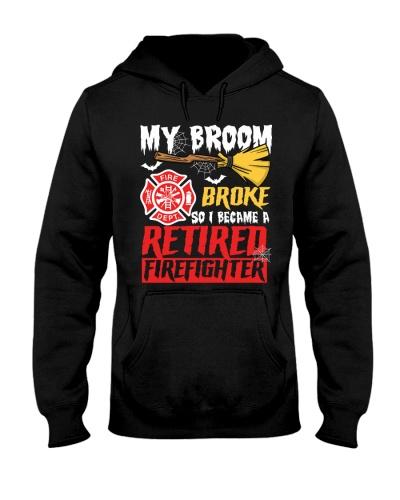 Retired Firefighter - My Broom Broke