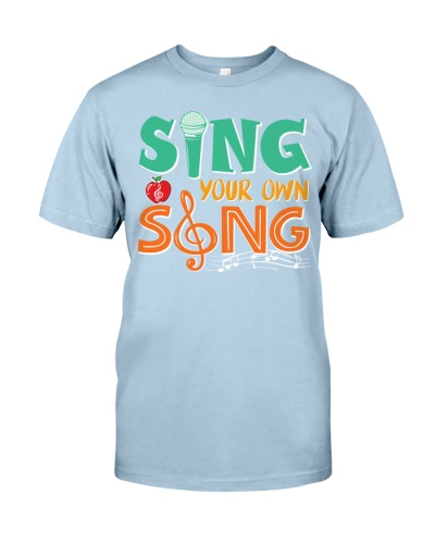 Music Teacher - Sing your own song