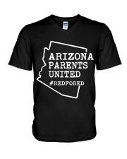 Teacher - Arizona Educators For ED V-Neck T-Shirt thumbnail