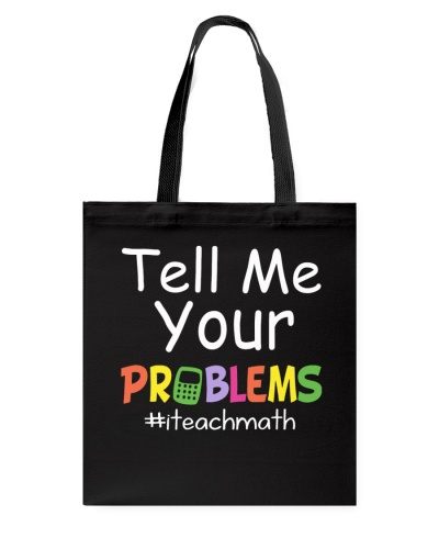 Math Teacher - Tell me your Problems