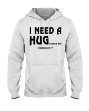 Nurse - I need a hug  Hooded Sweatshirt thumbnail