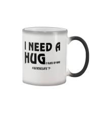Nurse - I need a hug  Color Changing Mug thumbnail