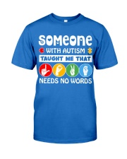 Special Education Teacher - Love needs no word Premium Fit Mens Tee thumbnail