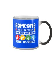 Special Education Teacher - Love needs no word Color Changing Mug thumbnail