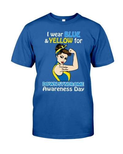 Inclusion Teacher - Down Syndrome Awareness Day
