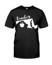Maryland Teacher - Map Premium Fit Mens Tee thumbnail