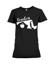 Maryland Teacher - Map Premium Fit Ladies Tee thumbnail