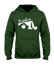 Maryland Teacher - Map Hooded Sweatshirt thumbnail