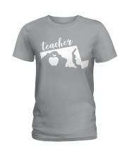 Maryland Teacher - Map Ladies T-Shirt thumbnail