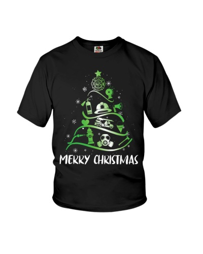 Firefighter - Merry Christmas Tree