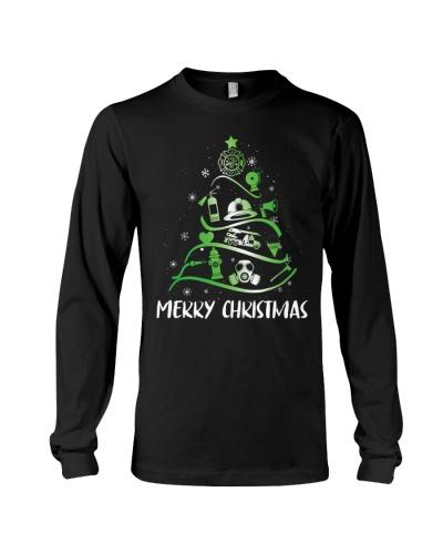 Firefighter - Merry Christmas Tree